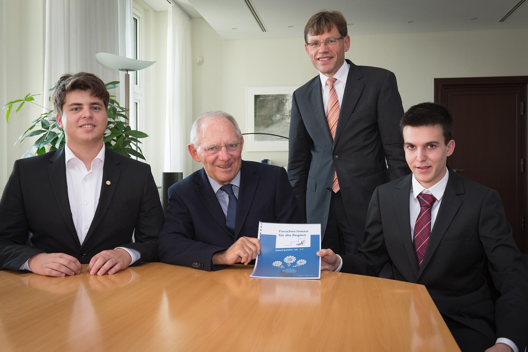 FRO bei Minister Schäuble