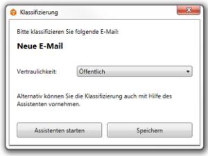 E-Mail-Klasifizierung
