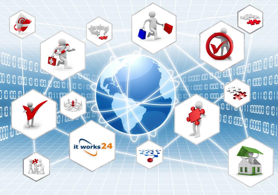 IT-Betrieb und weitere Services rund um die IT.