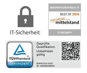 Zertifizierte Sicherheit: Logos