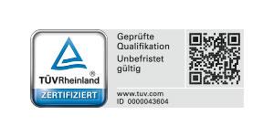 Logo TÜV Qualifikation