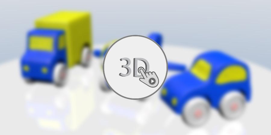 Interactive 3D - Produkte als 3D-Modell im Browser